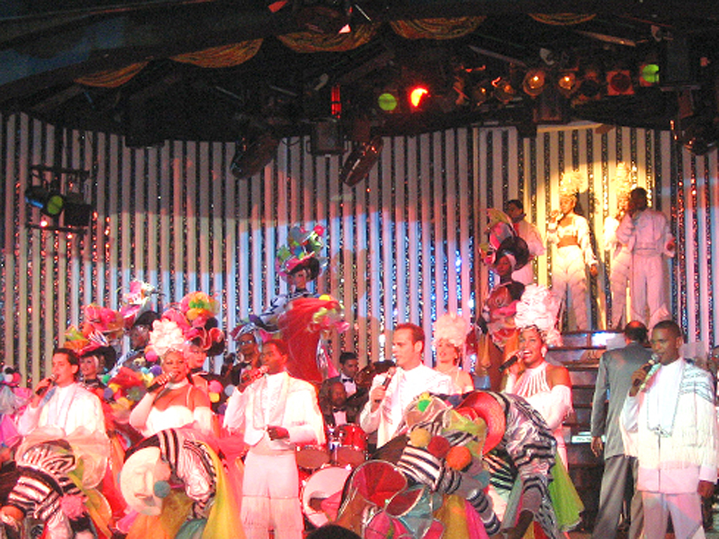 Tropicana Show - Dancers and Singers at the Cabaret Parisien